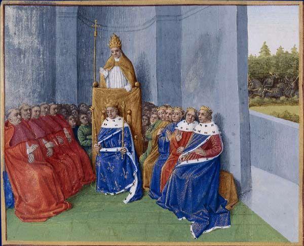 Le Pape Urbain II prêchant la croisade