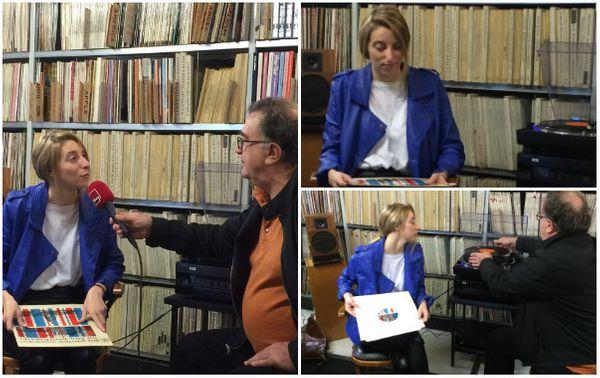 Sarah Dihartce à la Discothèque de Radio France ©Emmanuelle Lacaze