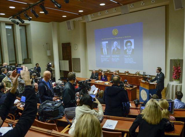 Prix Nobel de médecine 2015