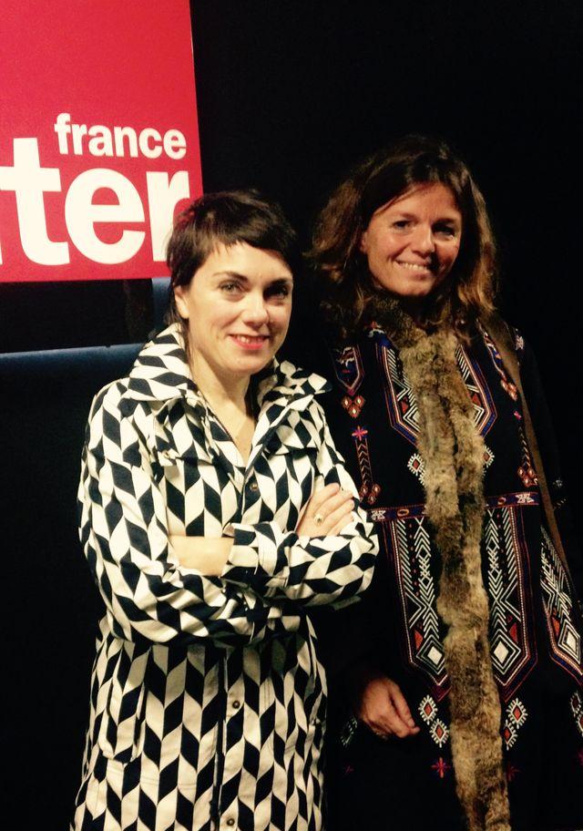 Véronique Ovaldé et Mailys de Kerangal