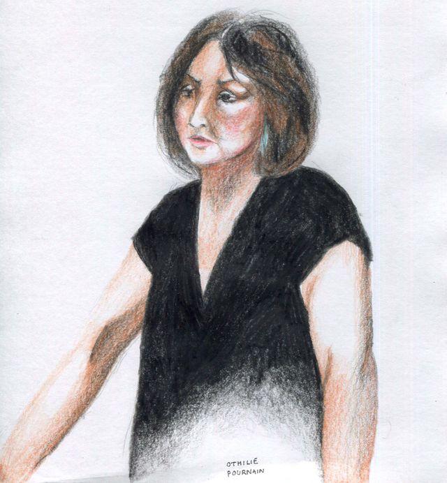Anne à la barre par Othilie Pournain
