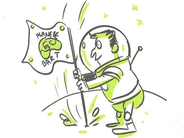 Le docteur Bart, croqué par la dessinatrice Marion Montaigne