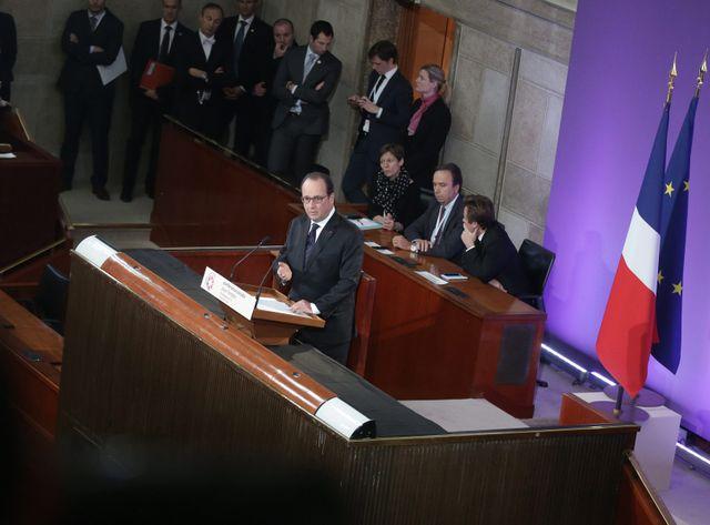 Le chef de l'Etat a annoncé le renouvellement en 2016 d'un plan de formations prioritaires à destination de 150.000 chômeurs