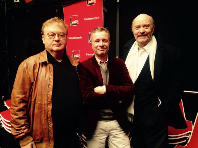 Dominique Besnéhard, Laurent Goumarre et Jean-Paul Rappeneau