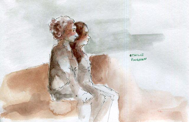Laurie, aide-soignante et Nathalie, infirmière par Othilie Pournain