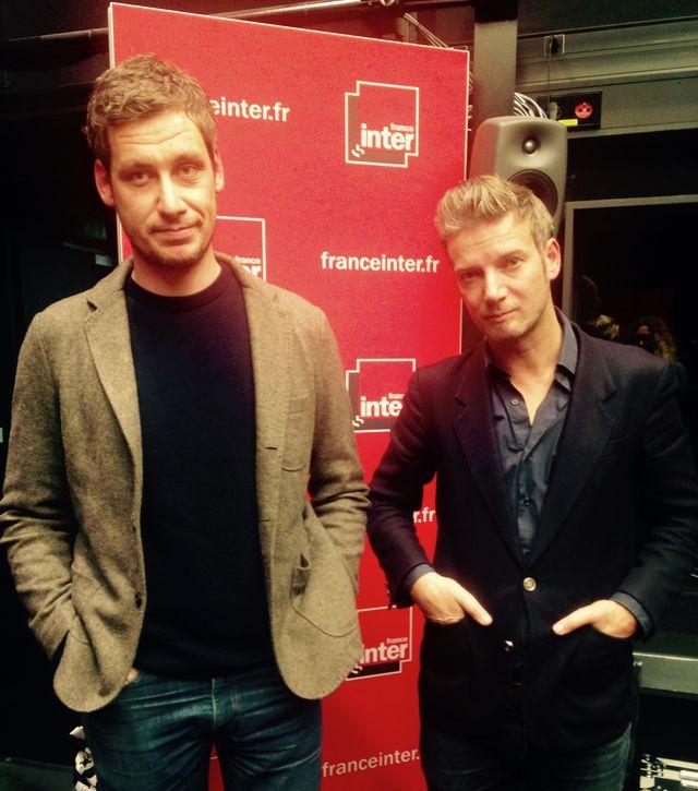 Thomas Le Gourriérec et Bertrand Belin