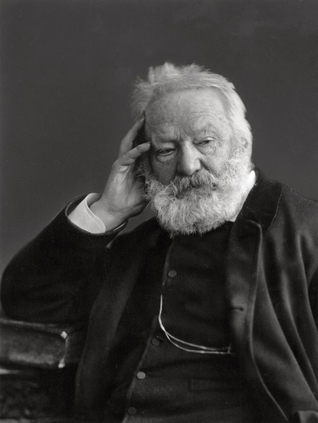 Victor Hugo, par '''Victor Hugo''', photo by Félix Nadar (Gaspard-Félix Tournachou)