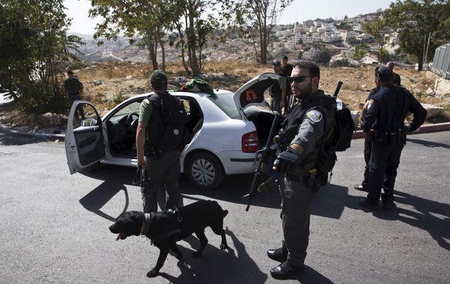 Un checkpoint israélien à Jérusalem