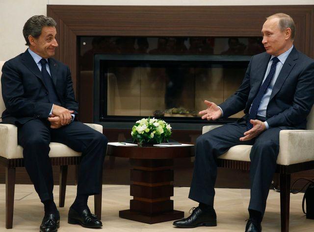 C'est la troisième fois que Nicolas Sarkozy rencontre Vladimir Poutine depuis qu'il a quitté la présidence française en 2012