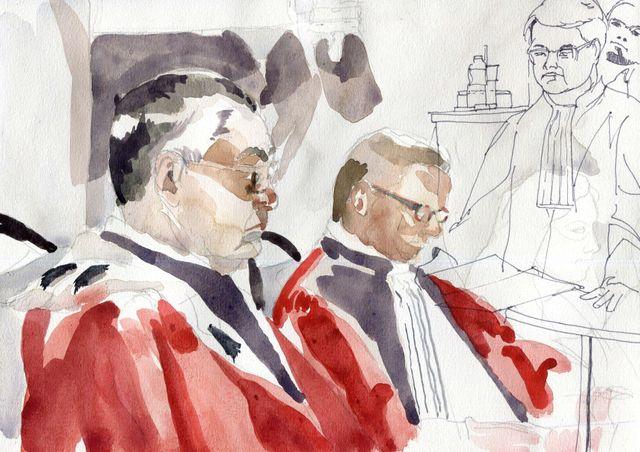Les avocats généraux du procès Bonnemaison par Matthieu Boucheron
