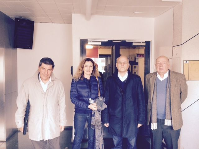 Jacques Sapir, Isabelle Veyrat-Masson, Daniel Fortin, Jean-Louis Gombeaud