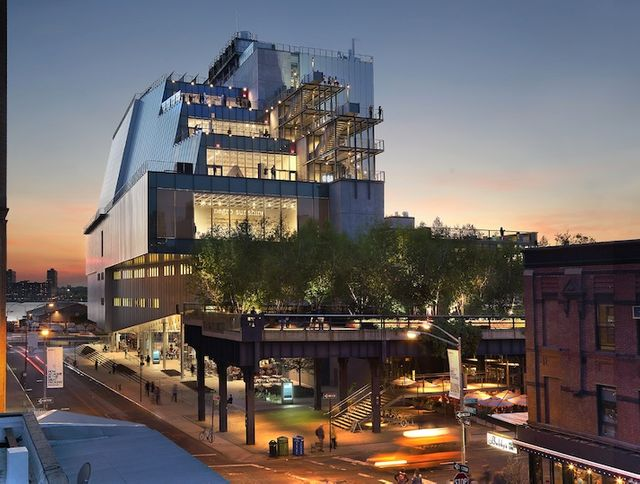The Whitney Museum of American Art, Gansevoort, New York, Etats-Unis. Renzo Piano Building Workshop