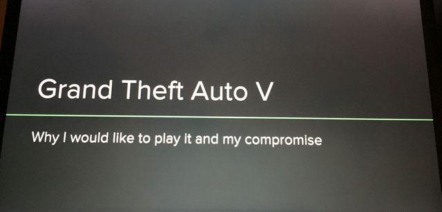 Un Powerpoint pour un jeu vidéo