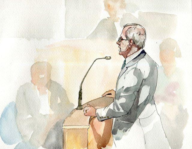 Jean Léonetti à la barre par Matthieu Boucheron