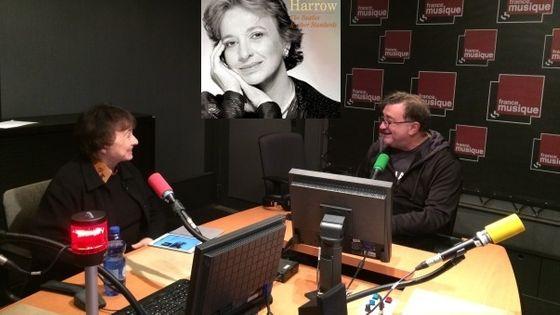 Nancy Harrow et Alex Dutilh au studio 143 © Emmanuelle Lacaze
