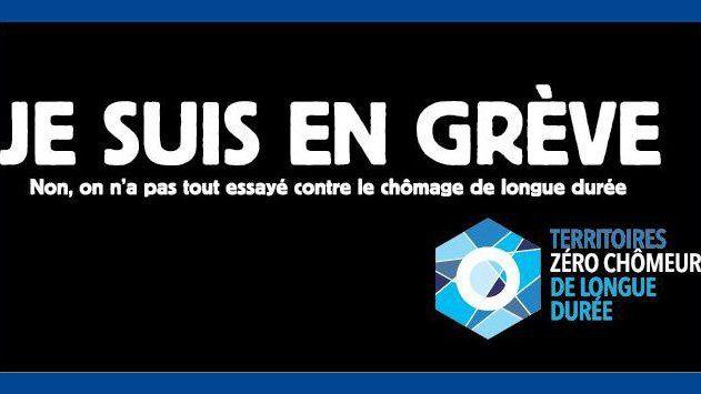 Campagne ATD Quart Monde, grève contre le chômage