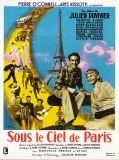 Sous le ciel de Paris affiche