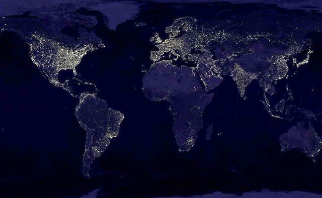 La planète brille