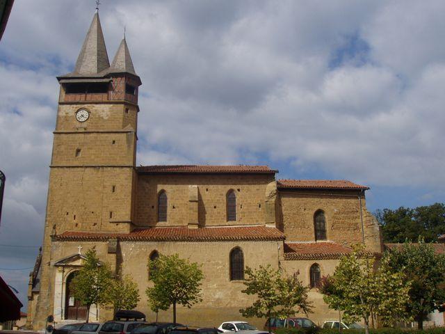 La collégiale de Castelanu-Magoac ( Hautes-Pyrénées)