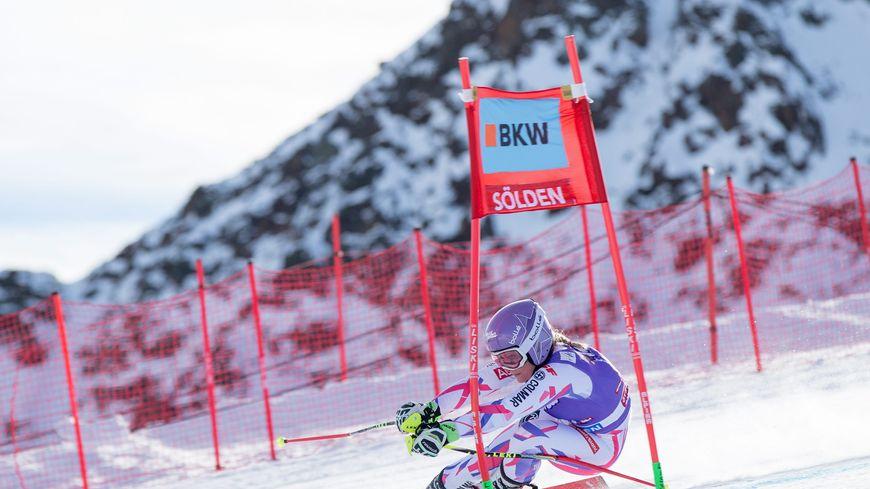 Tessa Worley (Grand-Bornand) a pris la 5è place du géant de Sölden (Aut).
