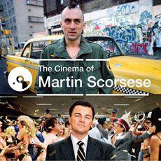 "Couverture du coffret 4 CD ""The cinema of Martin Scorsese"""