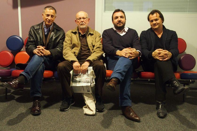 François Armanet, Jean-François Khan, Vincent Tremollet de Villers et Nicolas Truong