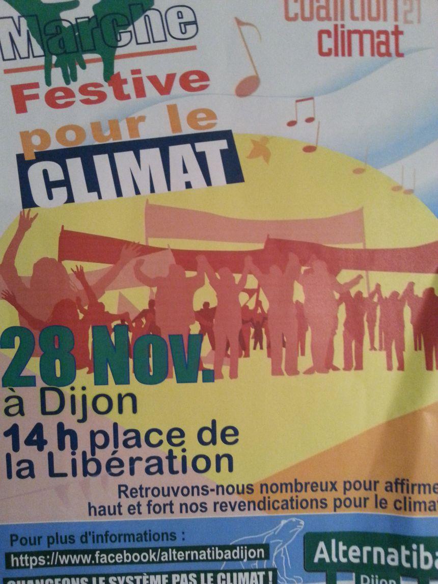 Affiche Alternatiba Dijon