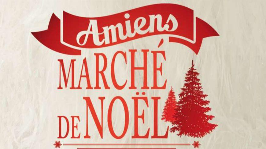 Affiche du Marché de Noël d'Amiens
