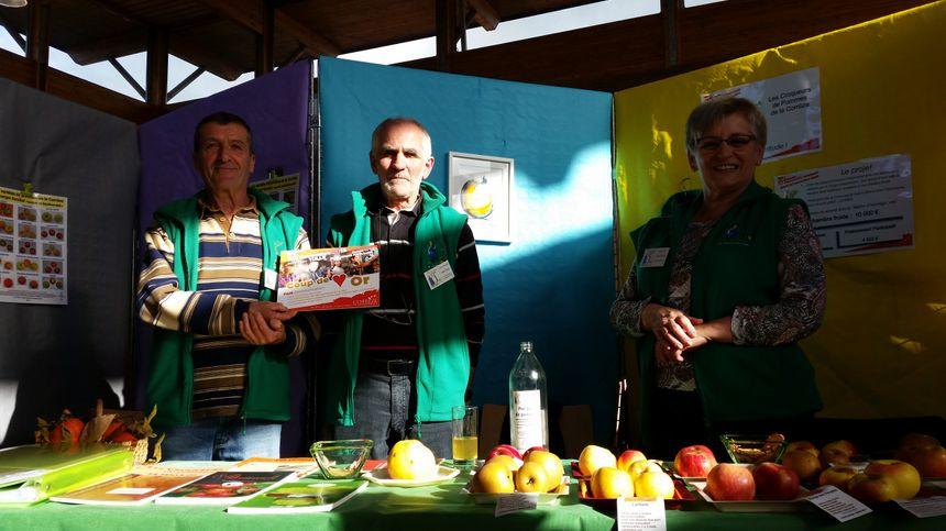 """L'association """"Croqueurs de pommes Corrèze"""" a remporté le 1er prix"""