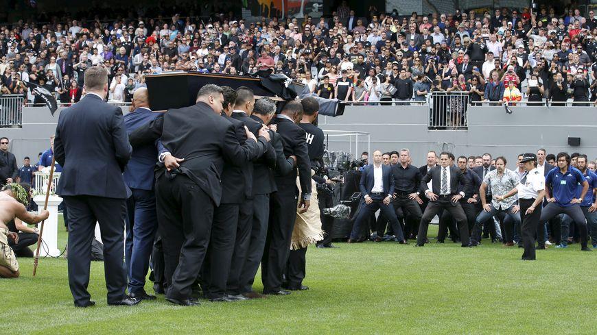 La Nouvelle-Zélande a rendu un hommage émouvant à Jonah Lomu à l'Eden Park
