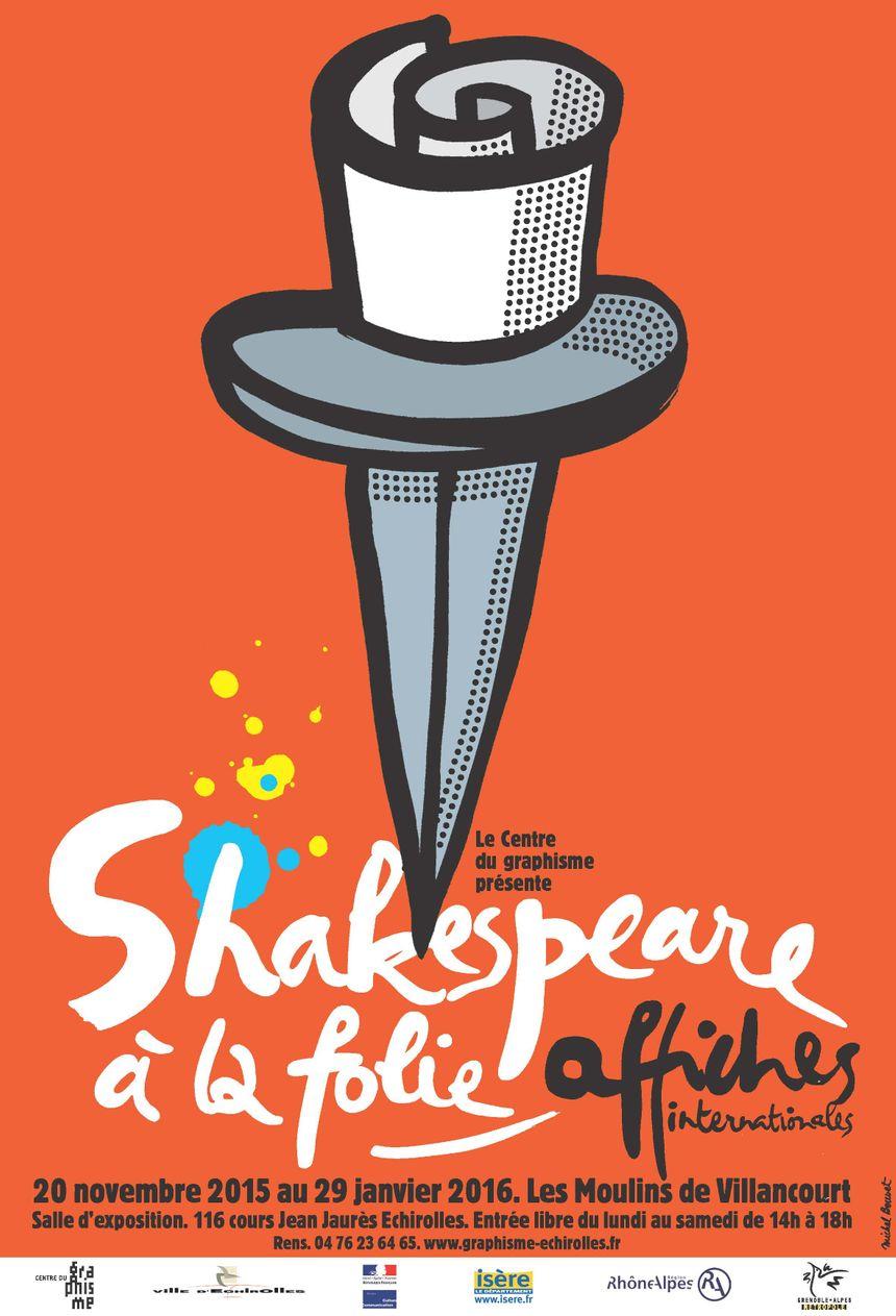 Exposition Shakespeare Centre du graphisme d'Echirolles