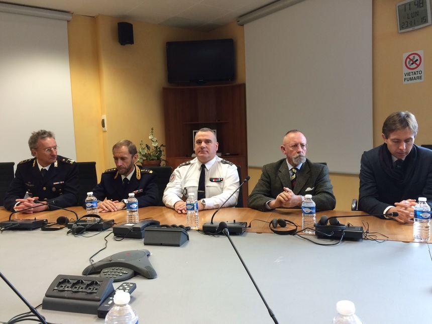 A Bardonecchia polices italienne et française collaborent