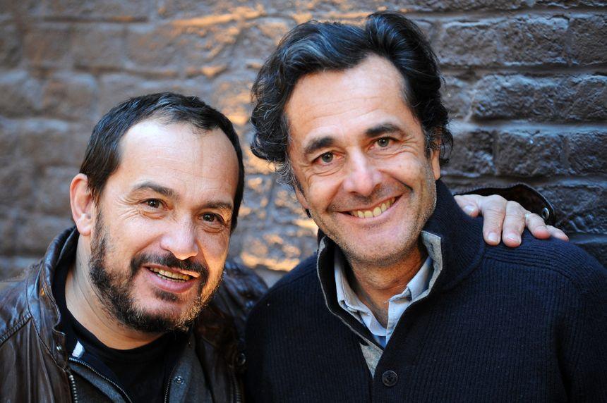 Mehdi El Glaoui et Nicolas Vanier