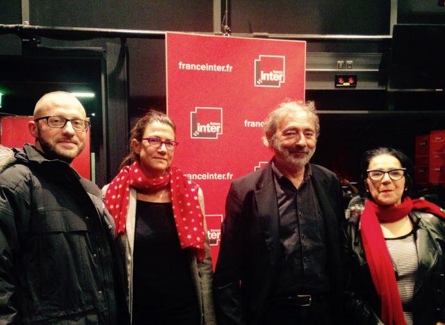 Hubert Artus, Delphine Peras, Dan Franck et Marie-Rose Guarniéri