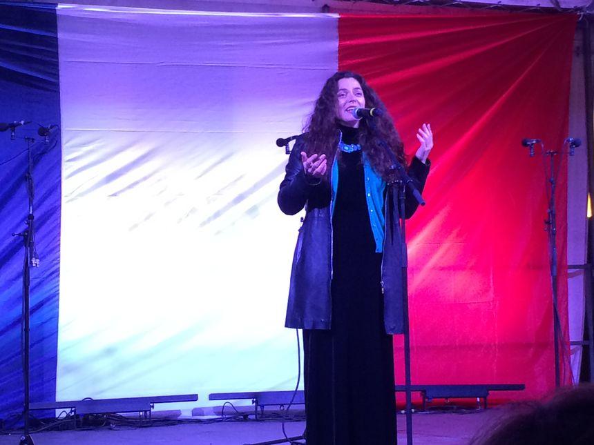la chanteuse Marthe Vassalo
