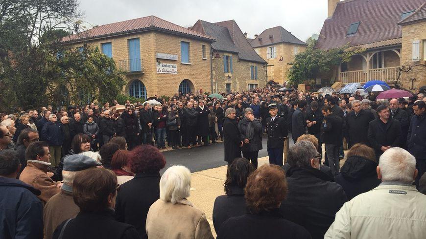 700 personnes ont assisté aux obsèques de Maxime Bouffard au Coux.