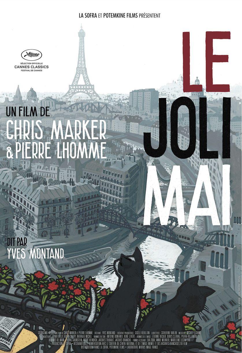 "Affiche du film ""Le Joli mai"" (1962)"