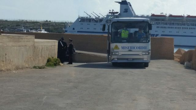 Le hotspot de Lampedusa