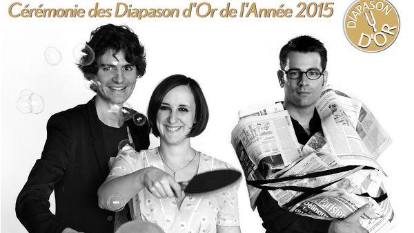 Soirée des Diapason d'Or 2015