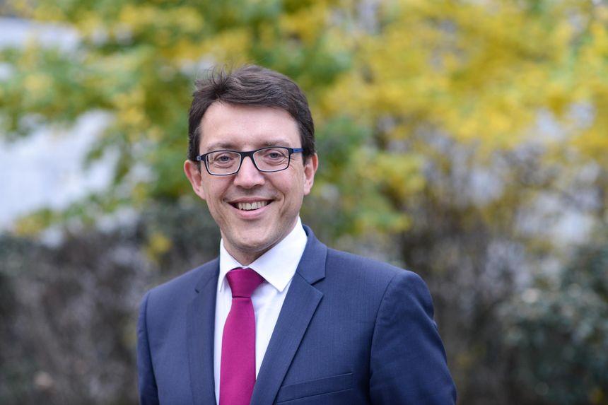 Christophe Clergeau, candidat PS aux régionales