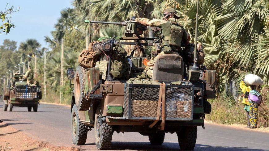 Les forces françaises au Mali