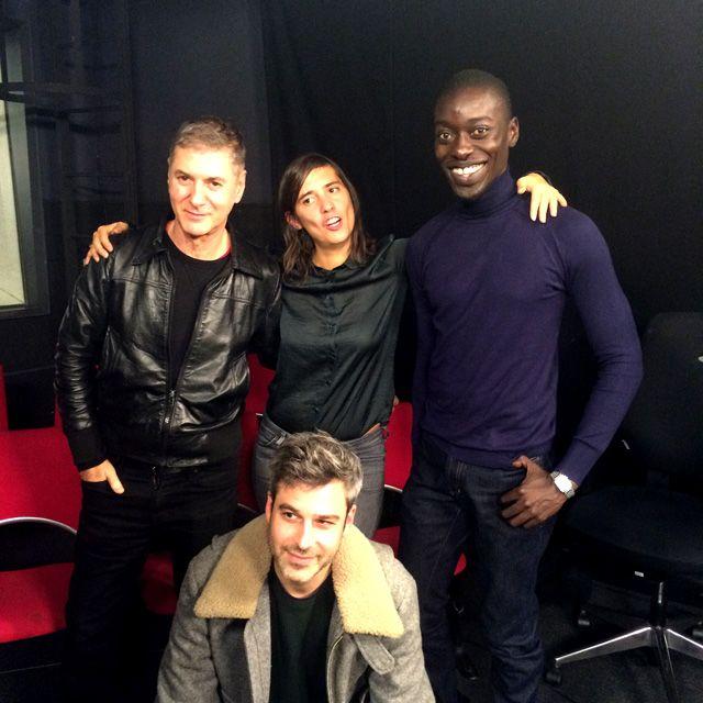 Ping Pong : Etienne Daho, Mathilde Serrell, Omar Victor Diop et Martin Quenehen
