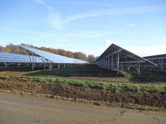 Centrale solaire à Soudun
