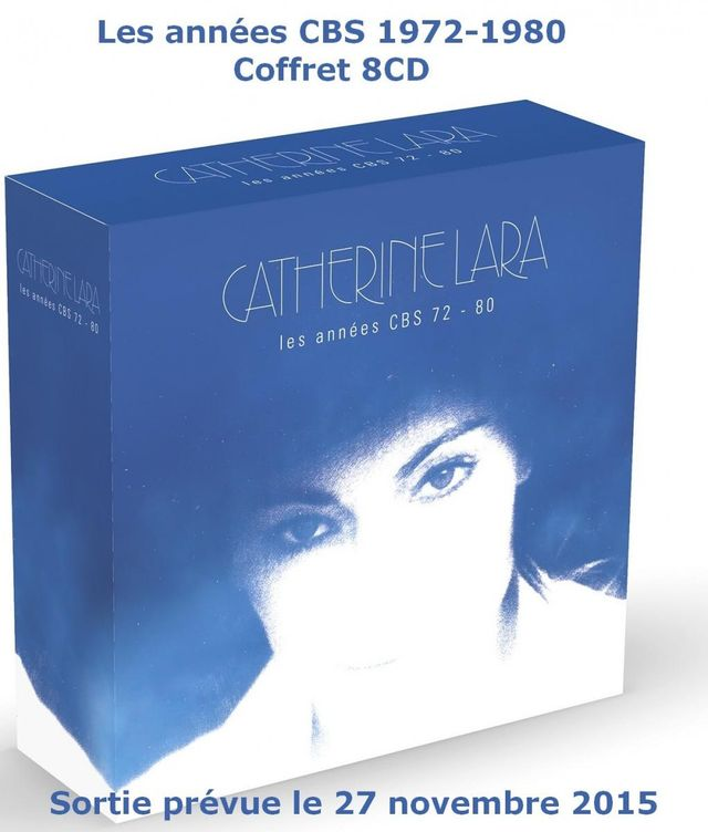 Catherine Lara coffret 8 CD