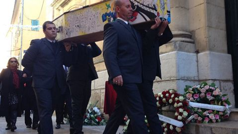 Hommage à Aurélie de Peretti à Notre Dame de l'Assomption, Saint-Tropez