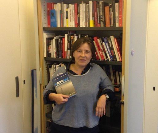 Delphine Prunault une des co-auteures du livre Irrespirable