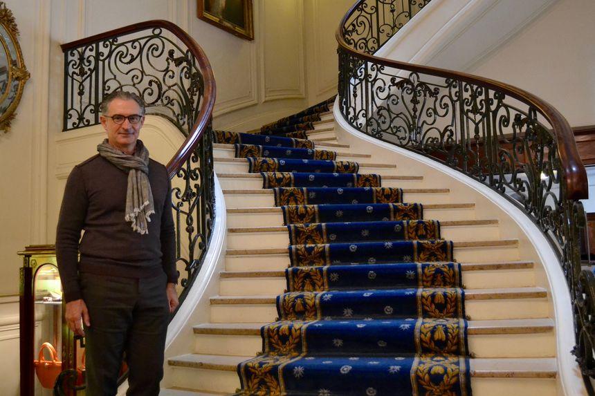 """L'hôtel du Palais est le seul """"palace"""" de la grande région."""