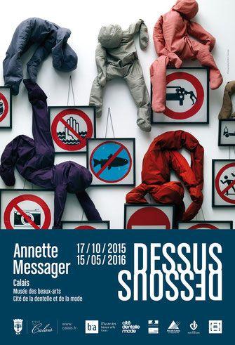 Dessus dessous, Annette Messager - Calais