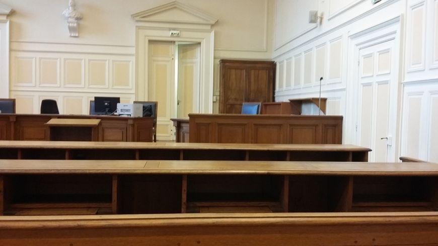 Une salle d'audience du tribunal correctionnel de Reims.