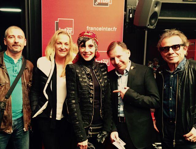 Patrick Niedo, Elodie Suigo, Liliane Montevecchi, Olivier Cachin et Philippe Manoeuvre